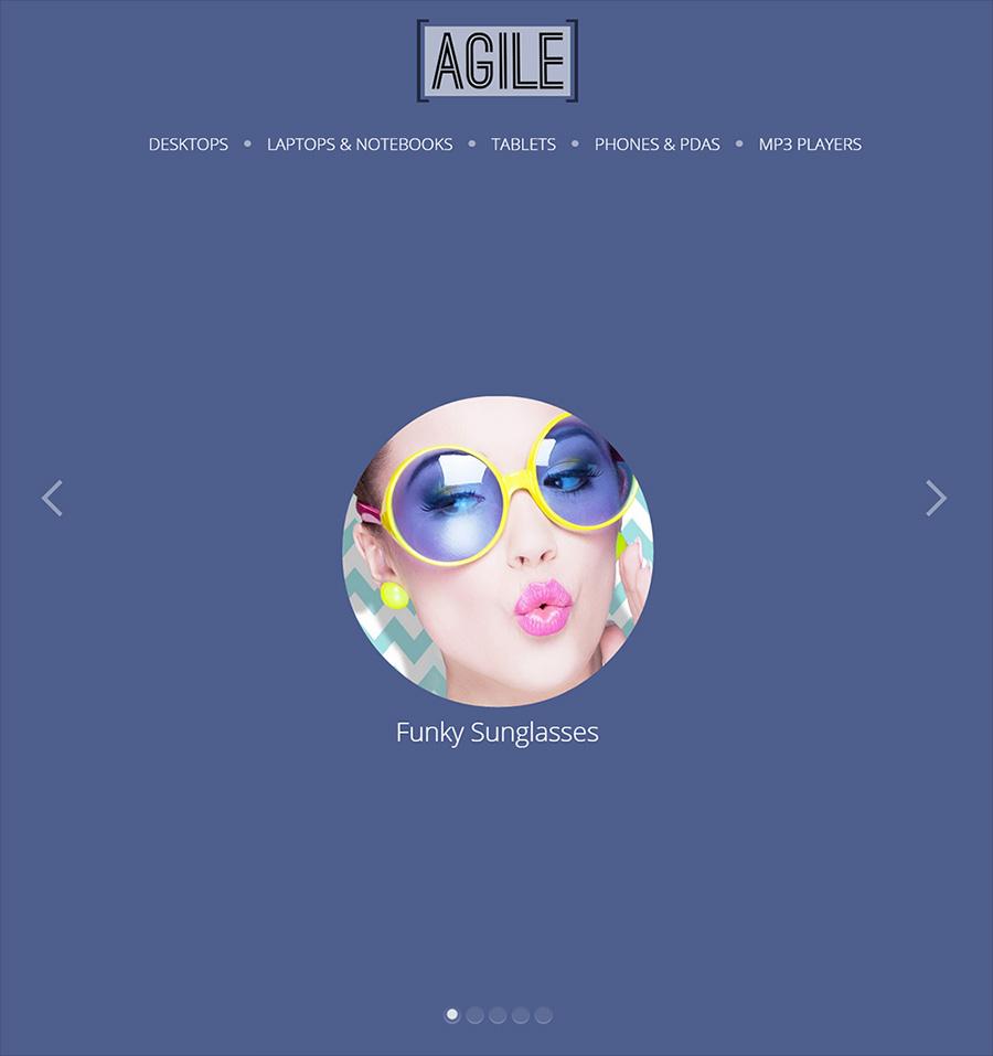 Agile Modern Opencart Theme 2.0