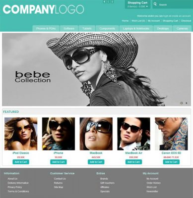 Free Opencart Templates