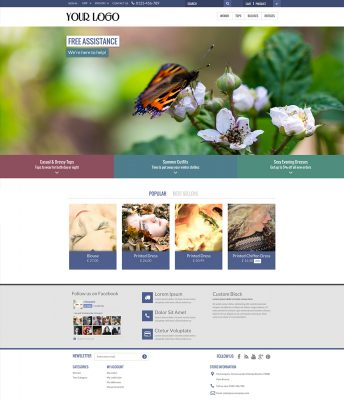 Aura Prestashop Template