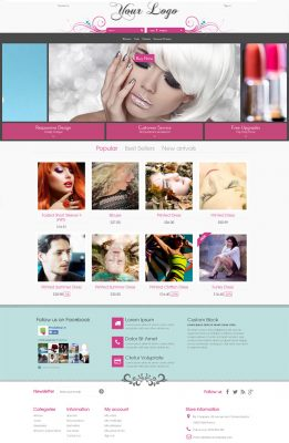 Floral Wedding Prestashop Theme