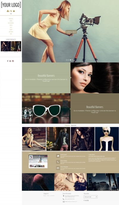 Magnetic Masonry Prestashop Template