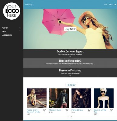 Newfangled Prestashop Theme