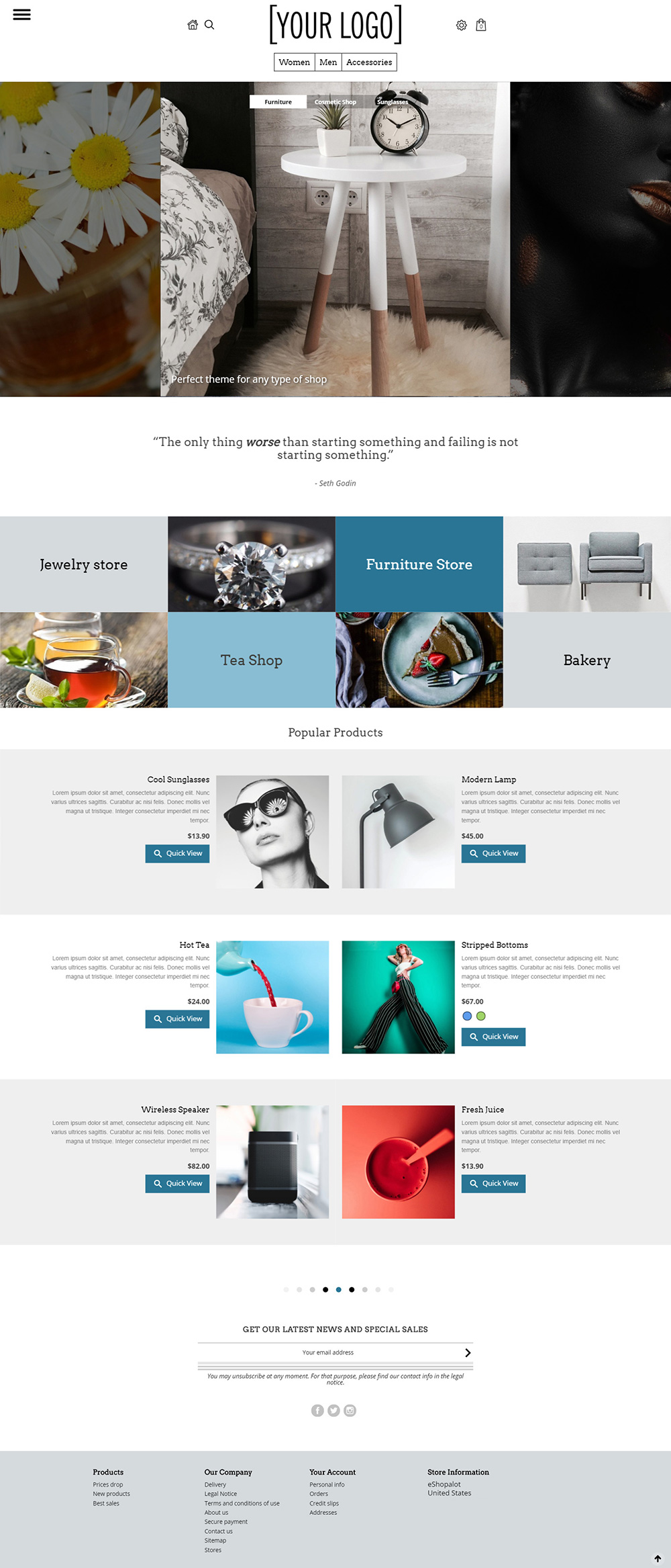 Ultramodern Prestashop 1.7 Theme