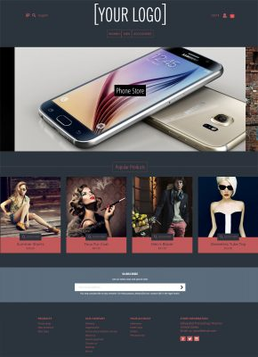 Inverted Dark Prestashop 1.7 Theme